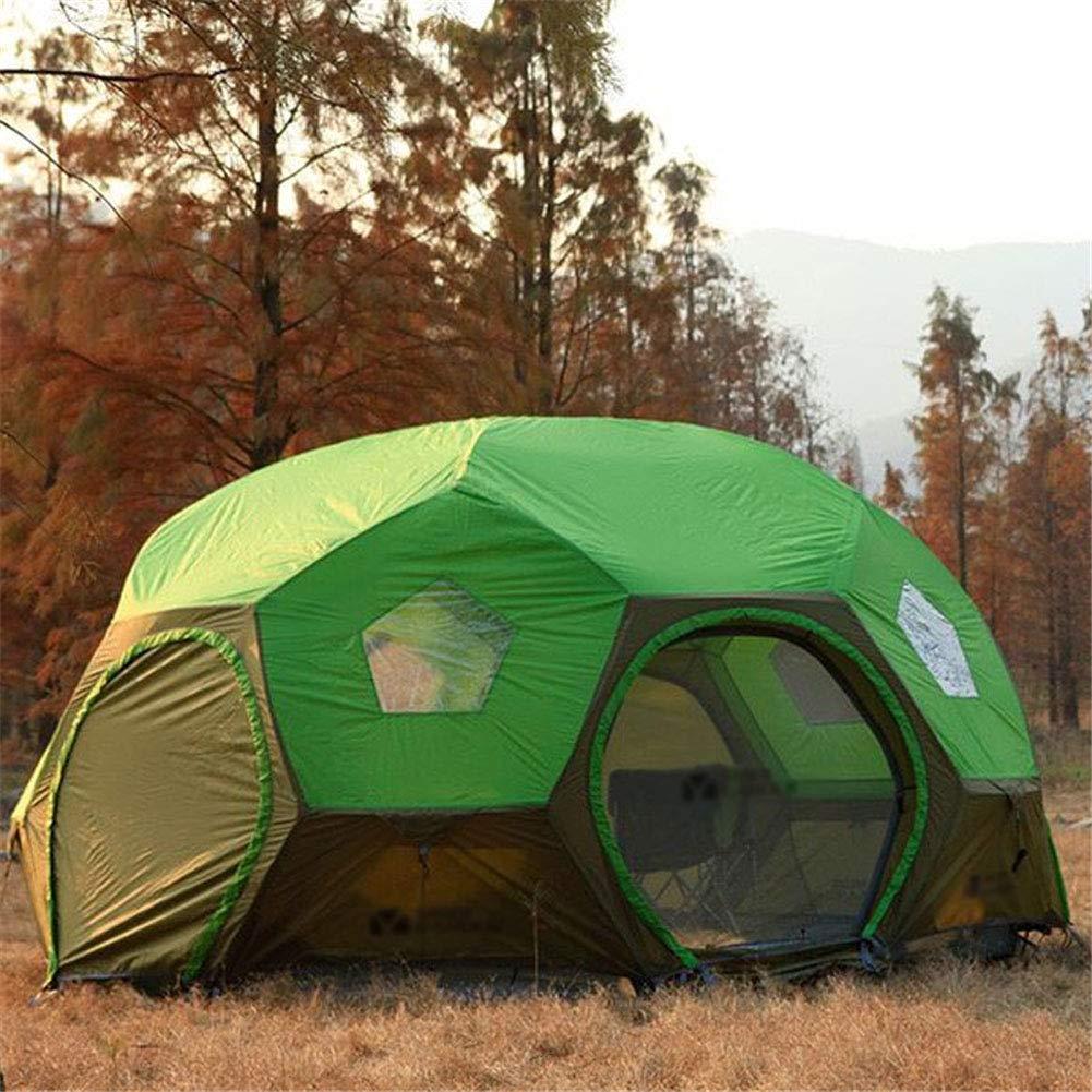 Zelt, Viele  Herrenchen überdimensioniert Zelte Doppel-Lagen Regenschutz Camping Wandern Sphärenfahrer Automatik Zelte
