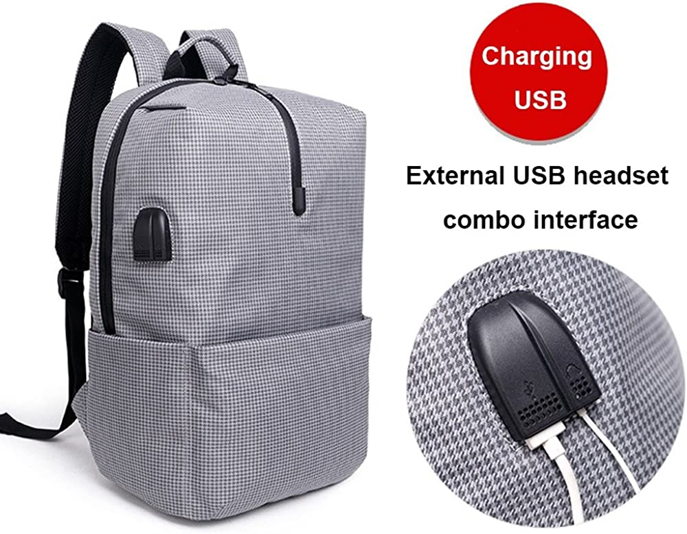 MMPY Waterproof and Wearable Shoulder Bag Fashion Trend Casual Bag Simple Business Backpack Travel Backpack