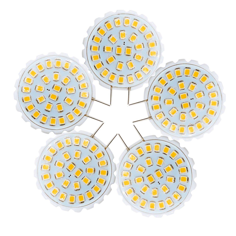 Chenyuying Chandelier Decorative Light Bi-Pin Lights AC 110-140V (5PCS) G8 2835 SMD 31LED 2W 100-200Lm Warm White Cool White (Size : Warm white)
