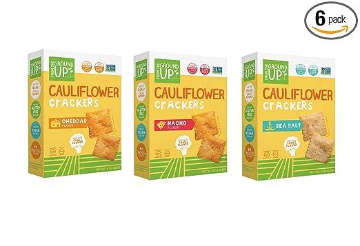 From the Ground Up Galletas de califlower de 3 sabores ...