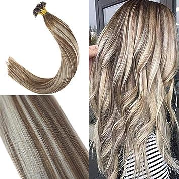 braun blonde strähnen
