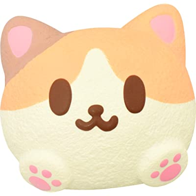 ibloom Japan Jumbo Soft Mike Pan Cat Squishy (Amy): Toys & Games
