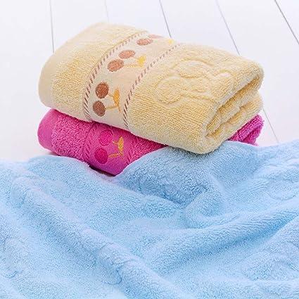XiYunHan Toalla de algodón Espesar Lávese la Cara Paño Toalla Adulto Absorción de Agua Hogar 74