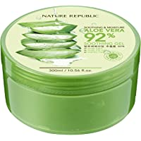 Nature Republic Soothing & Moisture Aloe Vera 92% Soothing Gel, 10.56 fl oz