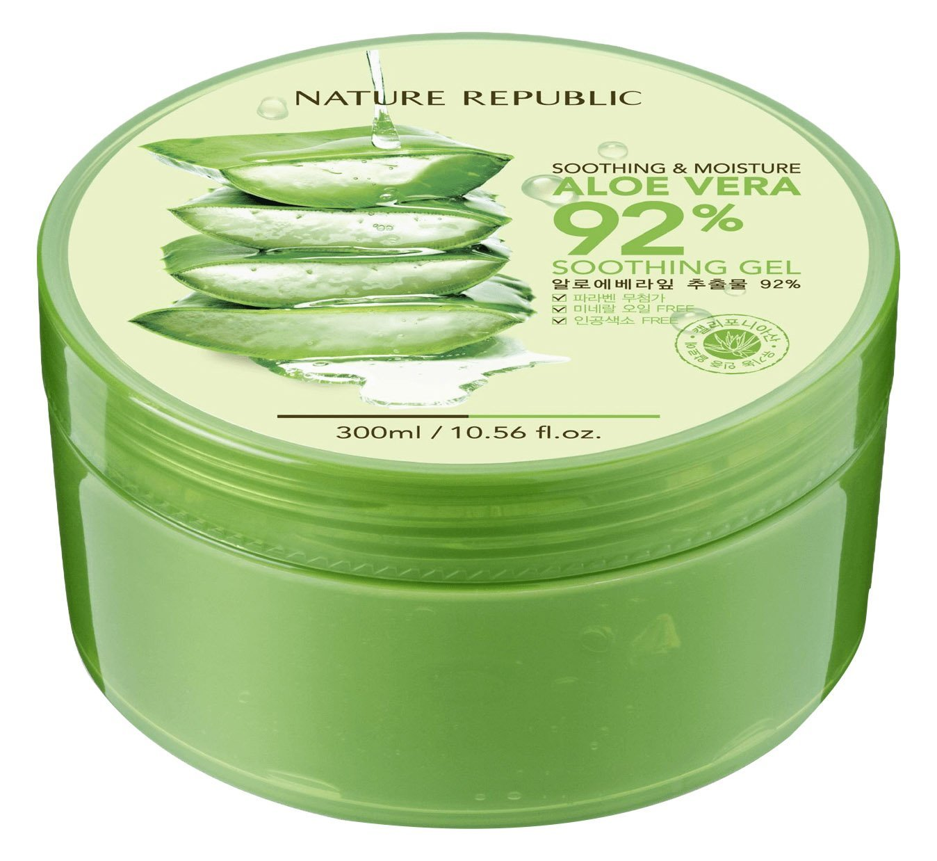 Nature republic soothing and moisture aloe vera 92 soothing gel 300ml - Amazon Com Natural Republic Aloe Vera Gel 300ml 10 56 Fluid Ounce Skin Care Products Beauty