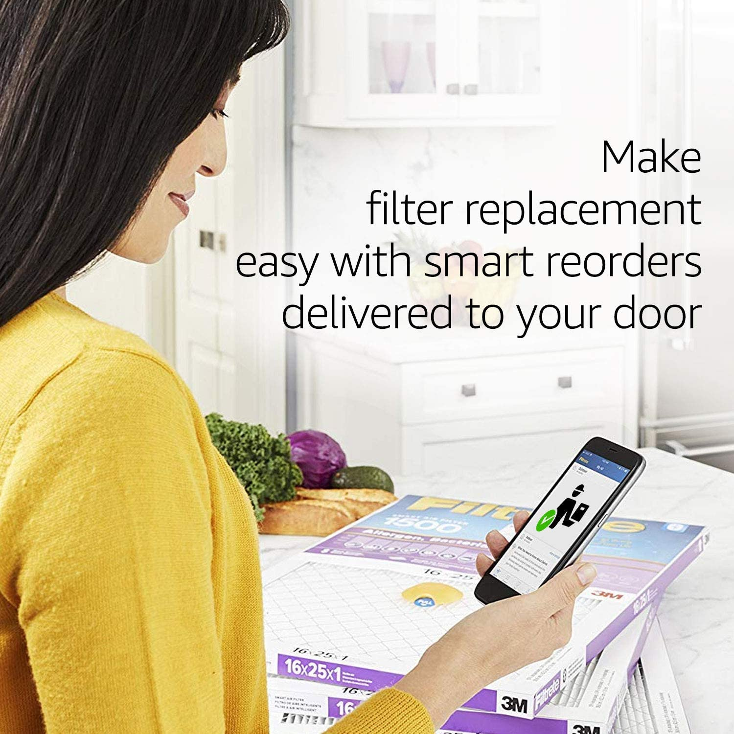 AC Furnace Air Filter 6-Pack MPR 1900 Healthy Living Ultimate Allergen exact dimensions 9.81 x 19.81 x 0.78 Filtrete 10x20x1