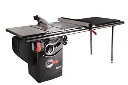 Sawstop pcs31230 tgp252 3 hp professional cabinet saw assembly with sawstop pcs31230 tgp252 3 hp professional cabinet saw assembly with 52 inch professional greentooth Choice Image