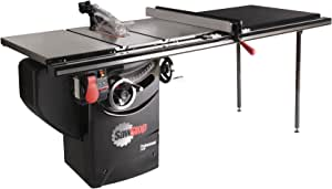 SawStop 10-Inch Professional Cabinet Saw, 3-HP, 52-Inch Professional TGlide Fence System (PCS31230-TGP252)