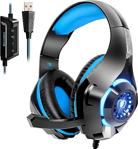 Amazon.com: Beexcellent - Auriculares de diadema para PC ...