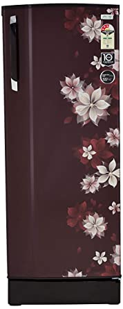 Godrej 251 L 3 Star Direct Cool Single Door Refrigerator(R D ESX 266 TAF 3.2 MRL WIN, Marvel Wine)
