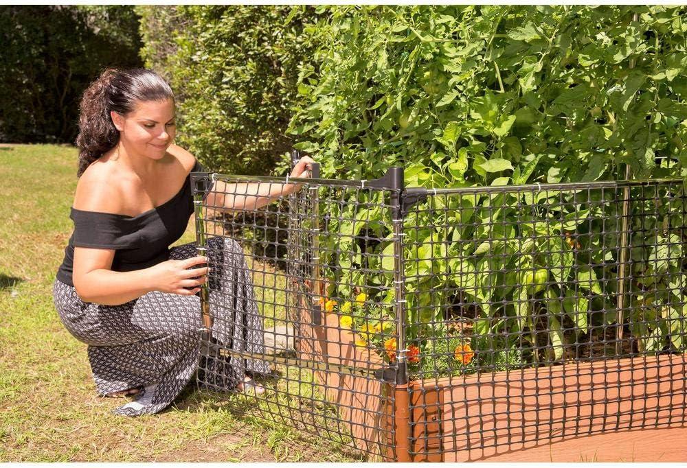 Animal Barrier for Raised Garden