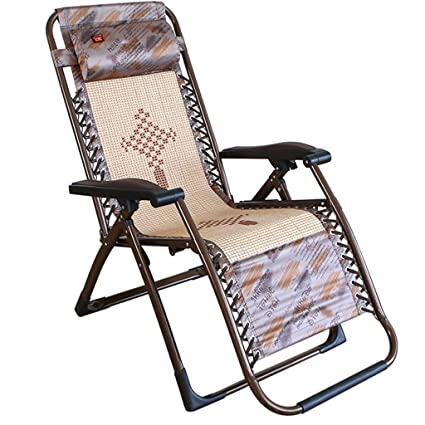 Amazon.com   Chair Folding Chair Recliners Cool Chairs Lounge Chair  Pregnant Women Bed Siesta Chair Single Bed Outdoor Beach Chair with Square  Tube   Garden ... 57a8541fd3