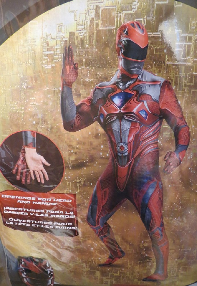 Power Rangers Red Ranger Adult Costume XXL 50-52