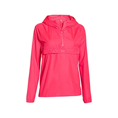 Under Armour Storm Popover – Chaqueta para mujer - 1255142-683, Pink Shock/