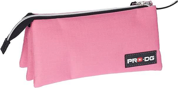 Pro-Dg Estuche portatodo Triple, Color Rosa, 24 cm (Karactermanía 56819): Amazon.es: Juguetes y juegos