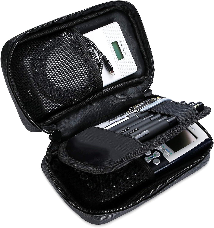 Ditto Estuche Escolar, Bolso de Lápiz Multifuncional de Gran Capacidad, Estuche con Bolsillo de Malla para Pluma Estilográfica Lápiz Bolígrafo Marcador Borrador Texas Instruments TI-84 / Plus -Negro: Amazon.es: Electrónica