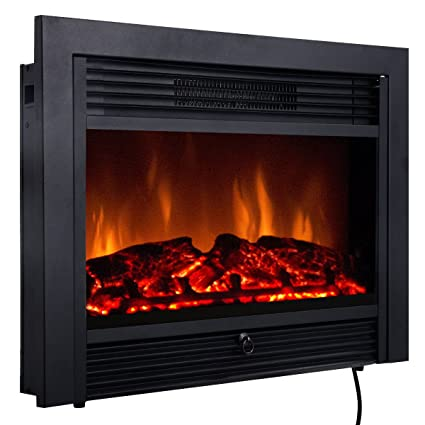 Amazon Com Giantex 28 5 Electric Fireplace Insert With Heater