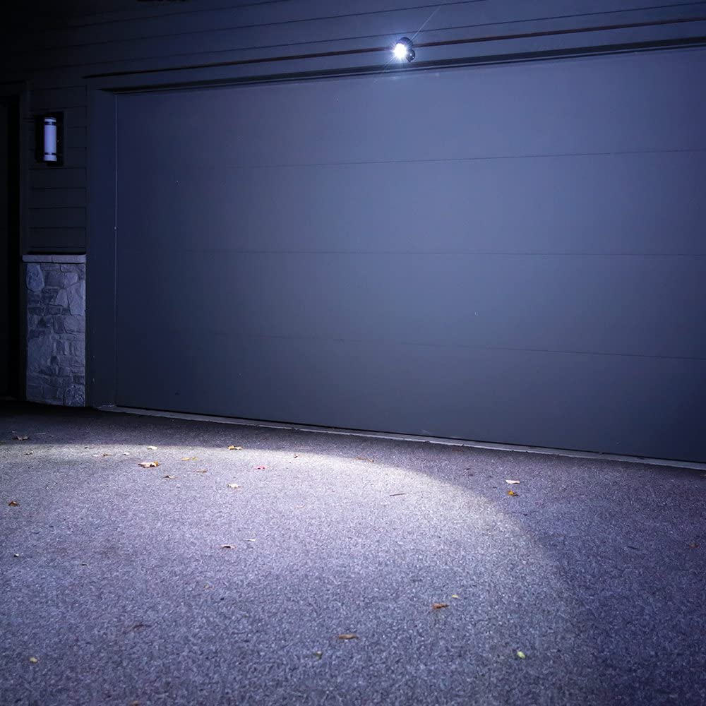 MrBeams batteriebetriebener LED Strahler MB3000 braun mit Bewegungssensor
