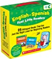 English-Spanish First Little Readers: Guided Reading Level C (Parent Pack): 25 Bilingual Books That are Just the Right Level for Beginning Readers