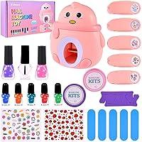 Faburo Juguete de La máquina de Uñas para Chicas, Niñas Pegatinas de Verano Autoadhesivas Regalo de Princesa para Niñas…