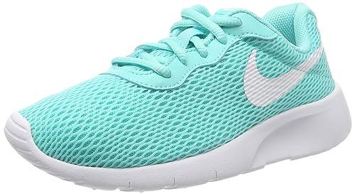 deace853d900 Nike Girl s Tanjun Shoe Aurora Green White Size 7 M US  Buy Online ...