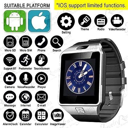 Nokia 6 Certified Bluetooth Smart Watch V9 Wrist Watch