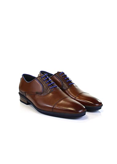 Floris van Bommel Herren Business Floris Casual Cognac Calf