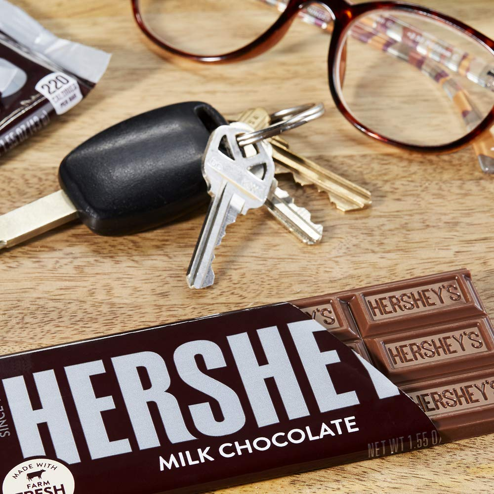 HERSHEY'S Milk Chocolate Candy Bars, 1.55-oz. Bars, 36 Count by HERSHEY'S (Image #3)
