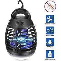 YUNLIGHTS Linterna de Camping Lámpara Mosquitos Electrico Repelente
