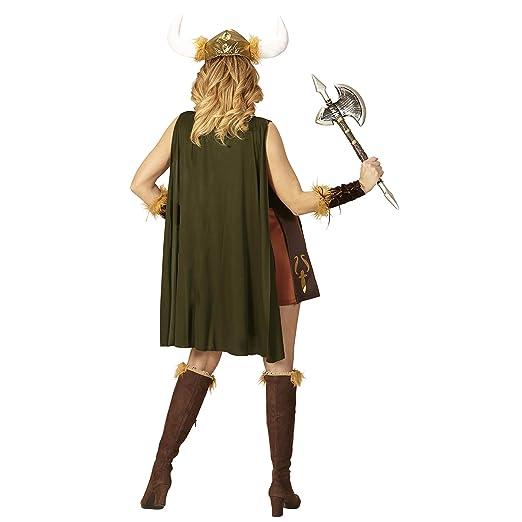 WIDMANN wdm97923 ? Disfraz vikingo, verde, Large
