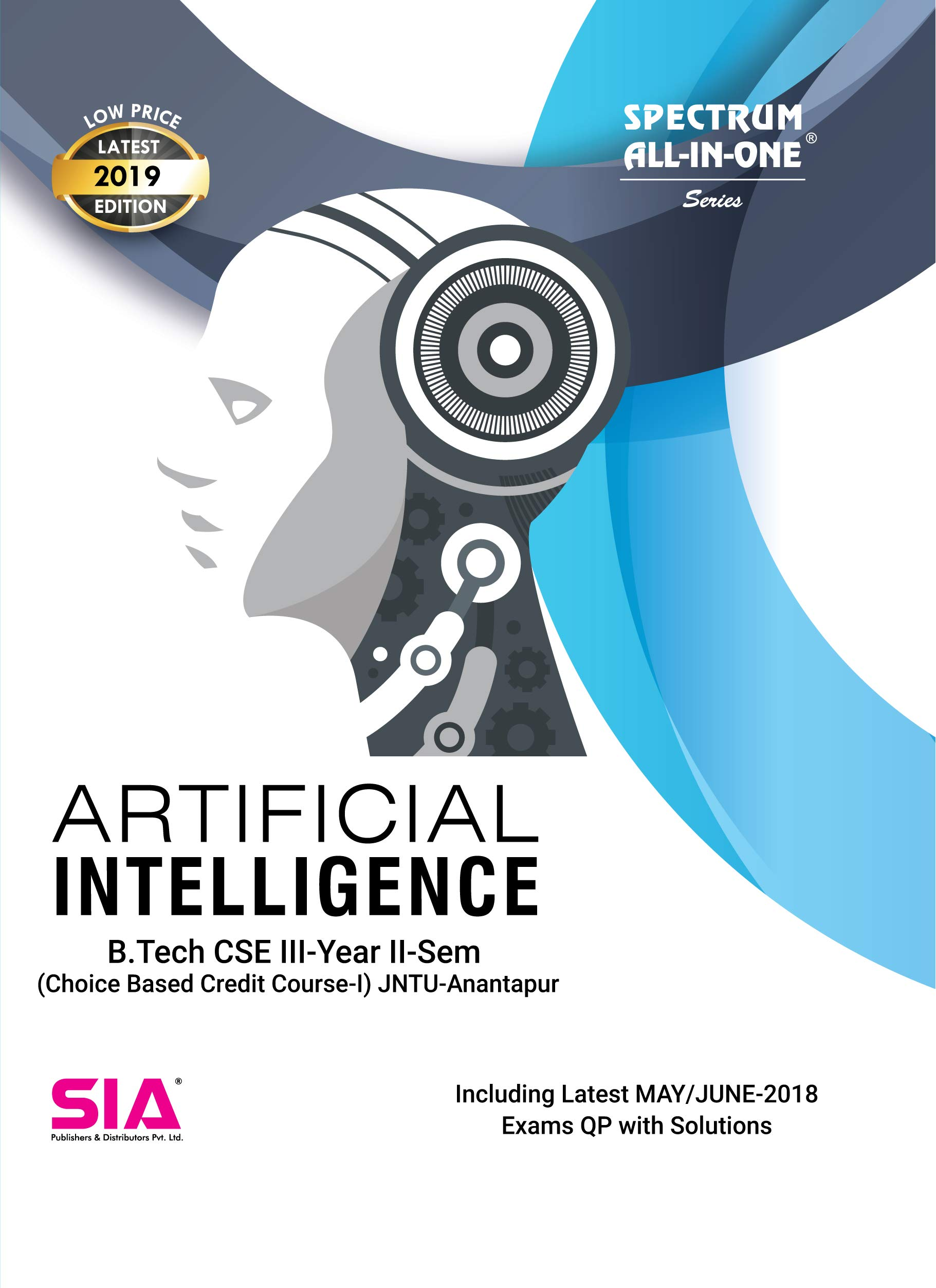 Amazon In Buy Artificial Intelligence B Tech Iii Year Ii Sem Cse Cbcc I Jntu Anantapur Low Price 2019 Edition Book Online At Low Prices In India Artificial Intelligence B Tech Iii Year Ii Sem Cse