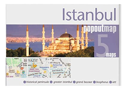 Amazon.com : Istanbul, Turkey PopOut Map : Wall Maps : Office Products