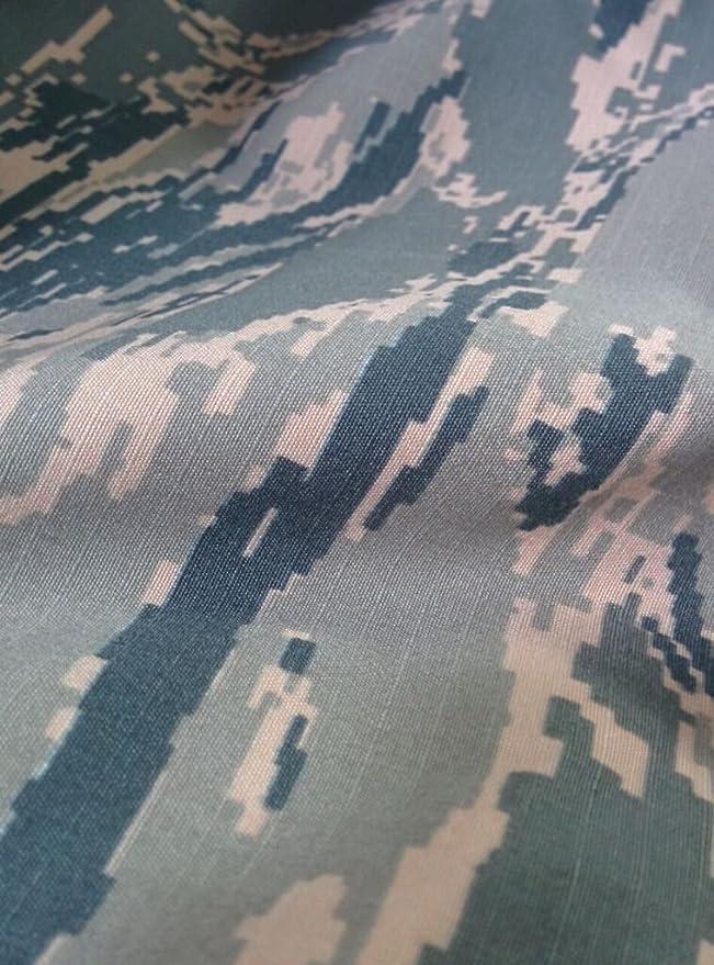 Amazon.com: ABU Air Force Tiger Stripe Camouflage Fabric | Nylon Cotton