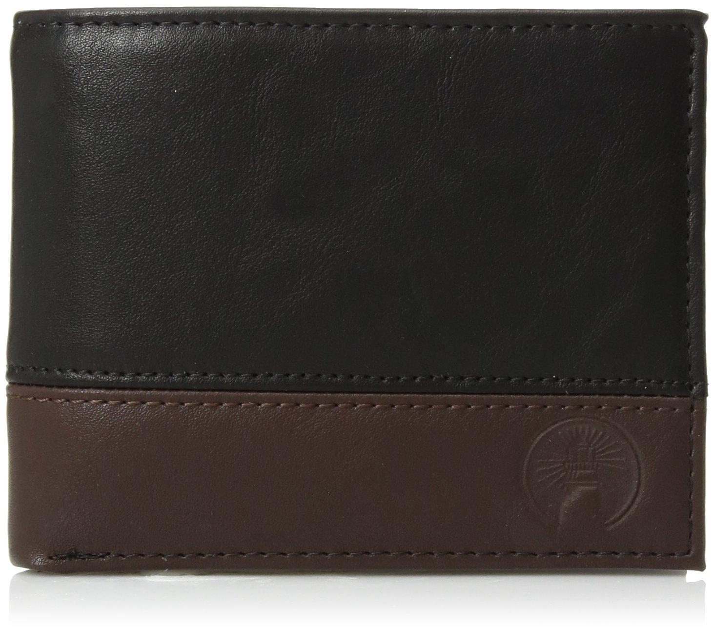 Weatherproof Men's RFID Slim Bifold Passcase Wallet