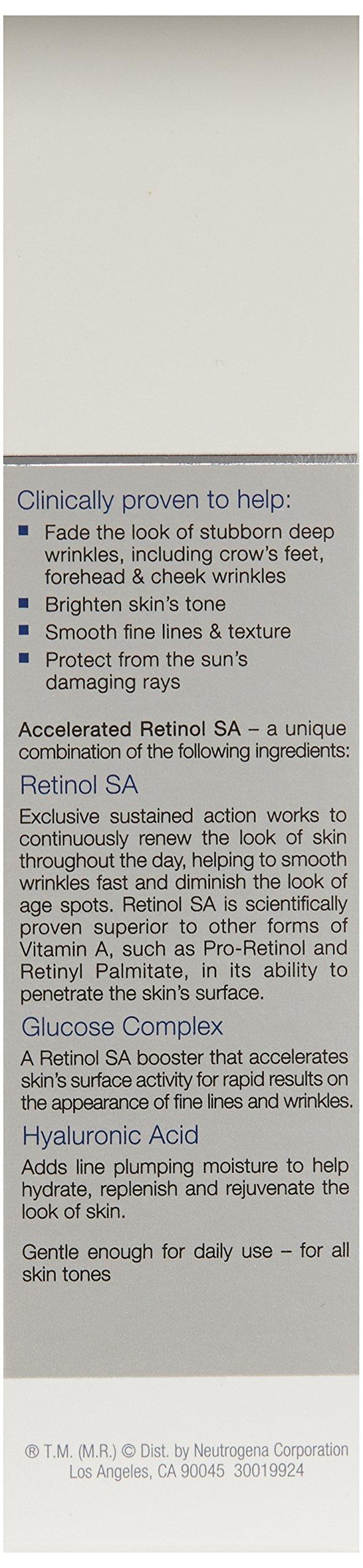 Neutrogena Rapid Wrinkle Repair Anti-Wrinkle Retinol Daily Face Moisturizer, with SPF 30 Sunscreen, 1 fl. Oz by Neutrogena (Image #4)