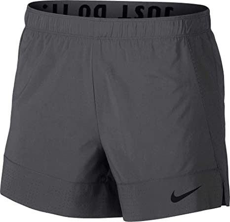 c60d601db544 Image Unavailable. Image not available for. Color: NIKE Women's Flex 2-in-1  Training Shorts ...