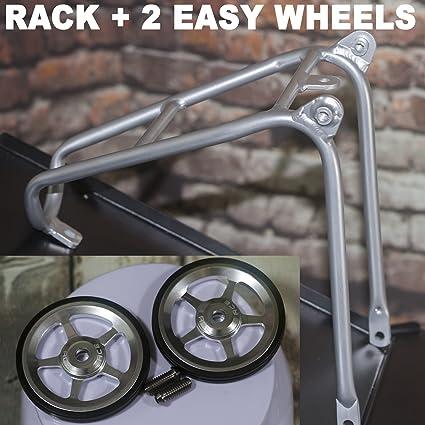 ACE Aluminium Q Type Rear Rack for Brompton Bicycle 140g Luggage Shelf