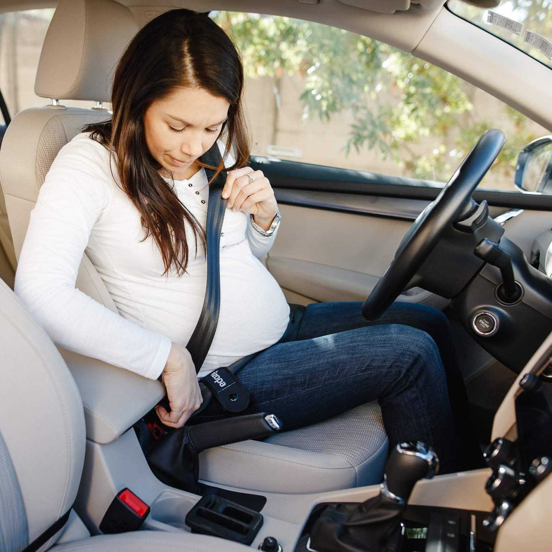 Schwangerschaftsgurt auto ★ Schwangerschaftskissen mit Gurtf/ührungsschlaufen ★ sch/ützt das Risiko der Abtreibung zu vermeiden