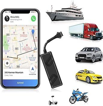 ANKEWAY 2020 New Mini Localizador GPS para Coche Dispositivo de Seguimiento GPS en Tiempo Real Anti Pérdida de 9-90V para Flota/Automóvil/Camión/Motocicleta/RV/Autobús/Segway (App Gratuita): Amazon.es: Electrónica