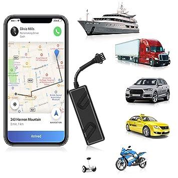 ANKEWAY 2020 New Mini Localizador GPS para Coche Dispositivo de Seguimiento GPS en Tiempo Real Anti Pérdida de 9-90V para ...