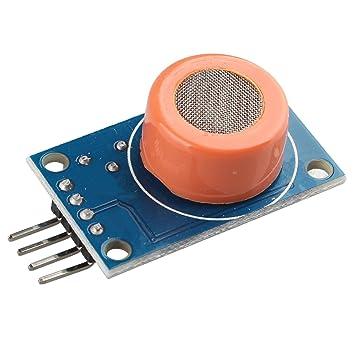 Amazon.es: haljia MQ-3 MQ3 Alcohol Etanol Sensor Breath detección módulo de detección DC 3 - 5 V 10 - 1000ppm 4 Pines para Arduino