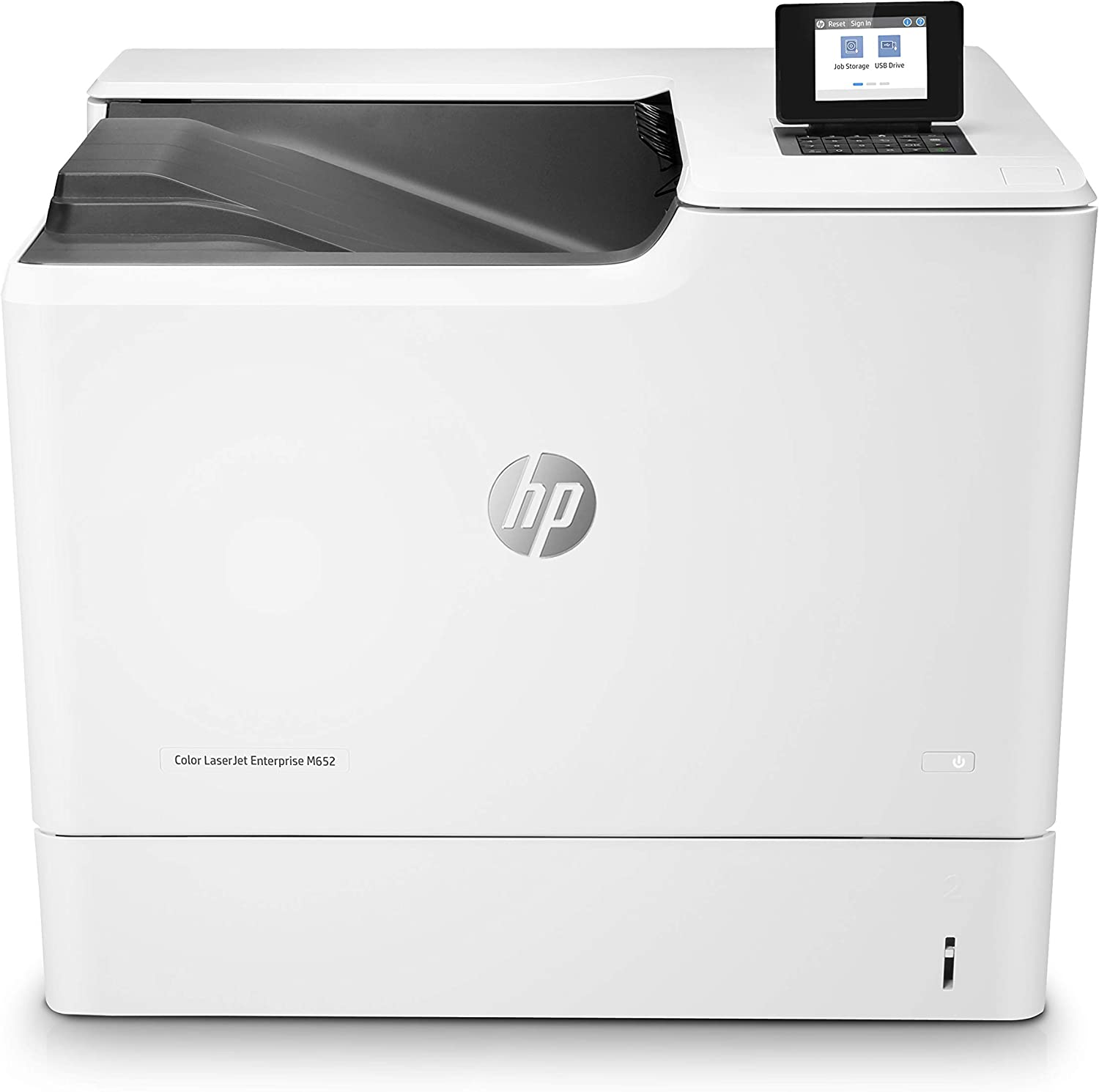 HP Color Laserjet Enterprise M652dn Duplex Printer with One-Year, Next-Business Day, Onsite Warranty (J7Z99A)