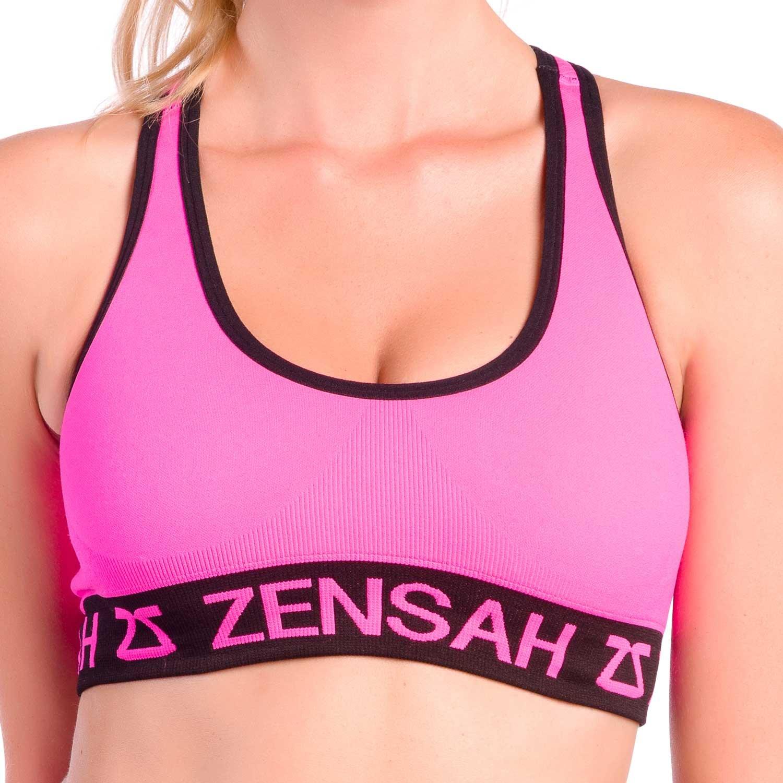 Zensah Womens Reversible Sports Bra - Seamless Sport Bra