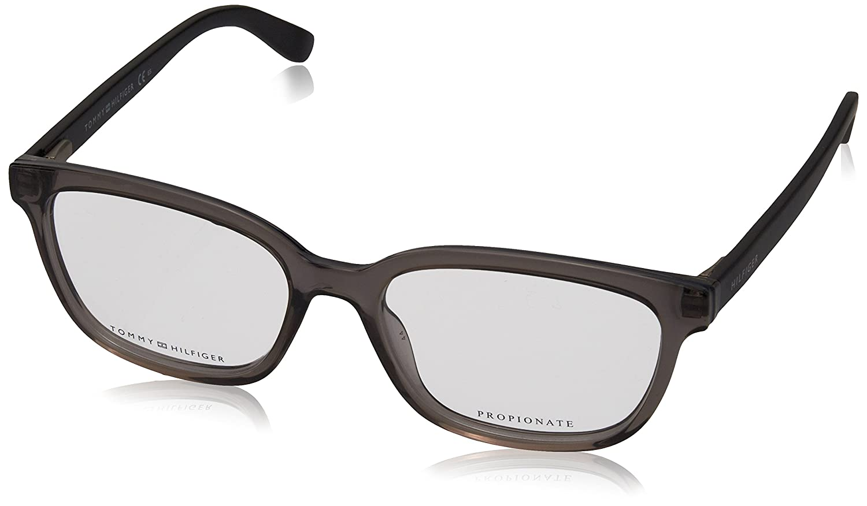 a7071e86e36 Tommy Hilfiger Women s Prescription Eyewear Frame Grey grey  Amazon.co.uk   Clothing