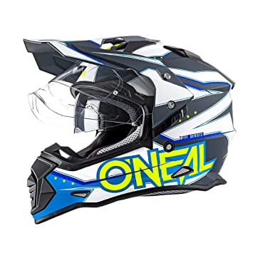 Oneal Sierra–Casco de motocross II Slingshot, Cross ,Enduro