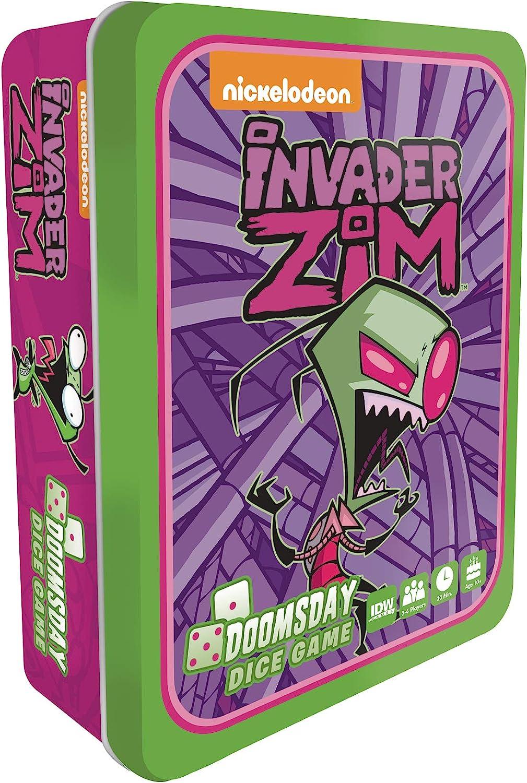 Amazon.com: Invader Zim: Doomsday Juego de dados: Toys & Games