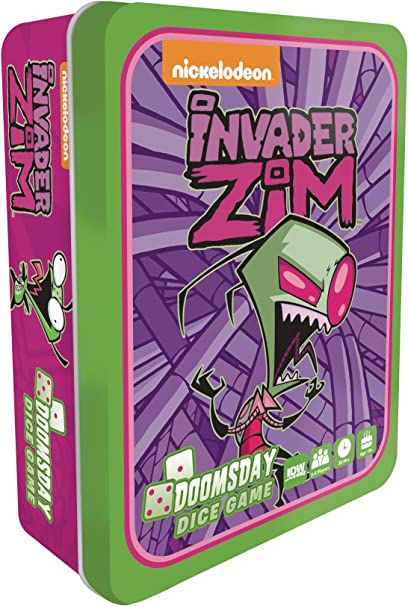 IDW Games Invader Zim: Doomsday Collectible Dice Game, Multi-Colored