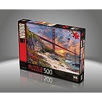 Ks Games- Sunset At Golden Gate Dominic Davison 500 Parça Puzzle