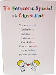 to Someone Special at Christmas, Pack of 5 Christmas Cards - Cute Christmas Luxury Greetings Cards by Clarabelle Cards 5 x 7 inches