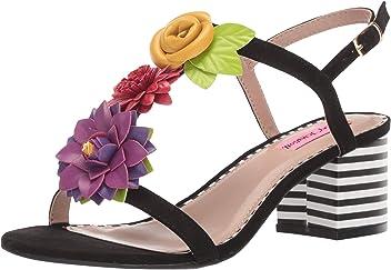 Betsey Johnson Womens Adde Heeled Sandal